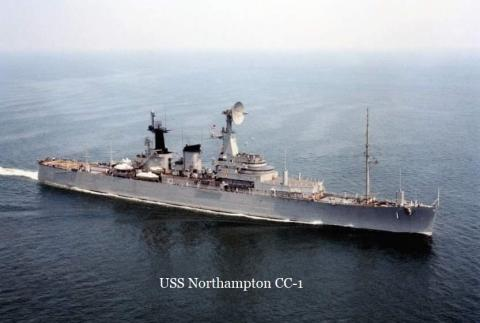 "The U.S.S. Northampton was one of the two ""Ghosts of the East Coast""."